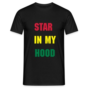 star in my hood tee - Men's T-Shirt