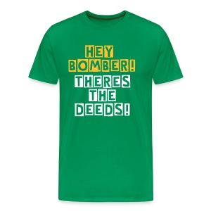 Rangers-Deeds-GoldII - Men's Premium T-Shirt