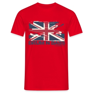 UK DNB Flag - Men's T-Shirt