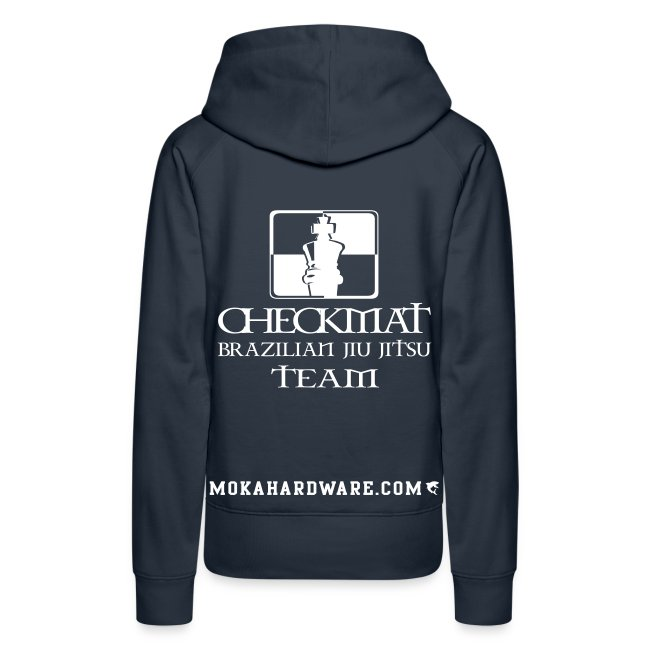 Arte Suave/CheckMat Female Team Hoodie Navi