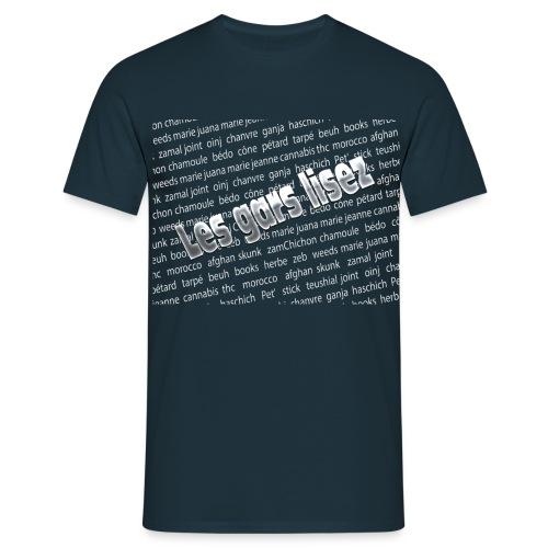 Les gars lisez - T-shirt Homme