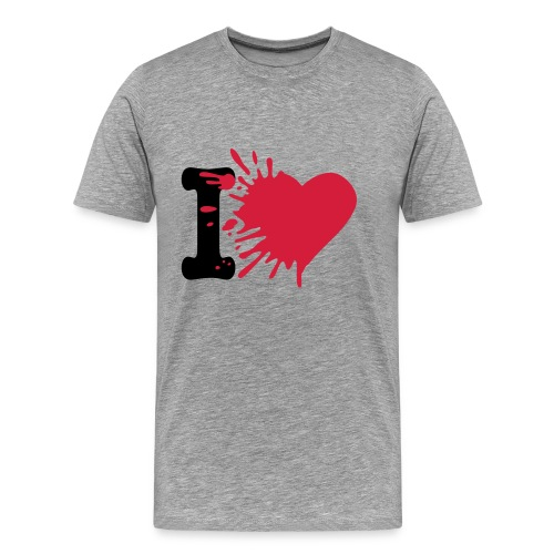 I love... - Men's Premium T-Shirt