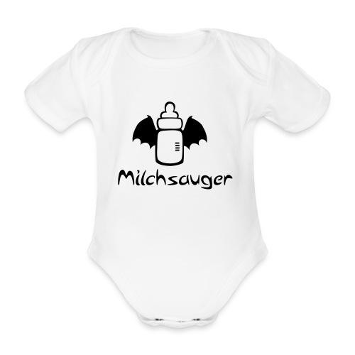 Milchsauger - Baby Bio-Kurzarm-Body