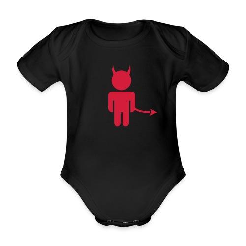 Little Devil - Baby Bio-Kurzarm-Body