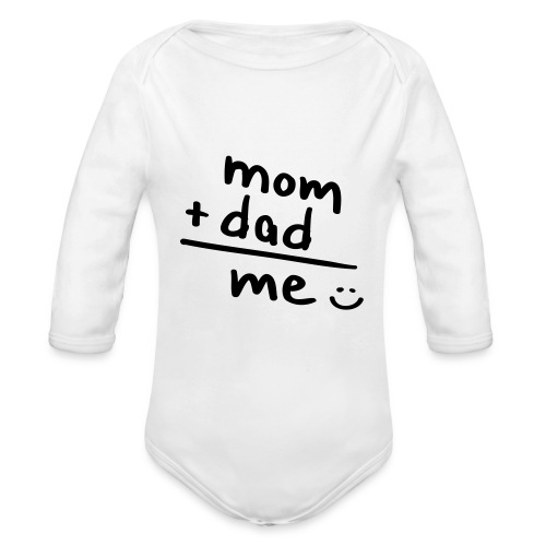 simple addition - Baby Bio-Langarm-Body