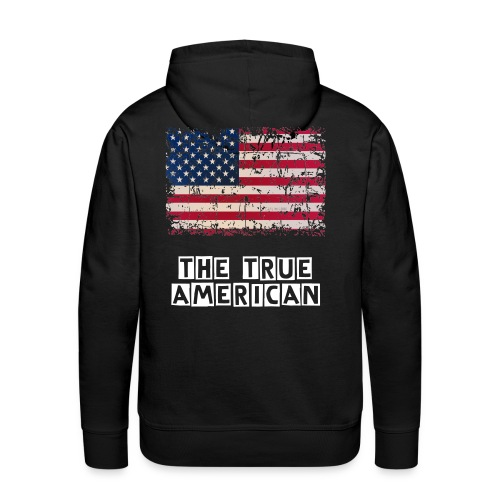 the true american  - Men's Premium Hoodie