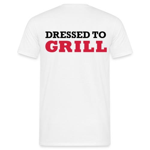 Dressed to shirt heren - Mannen T-shirt