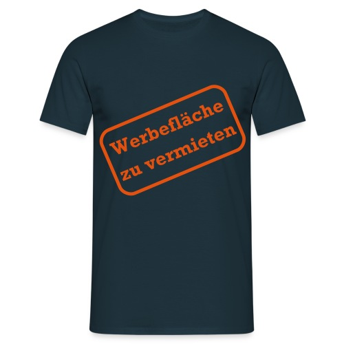 Werbefläche - Männer T-Shirt