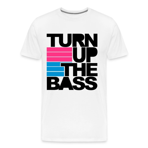Turn up the Bass T-Shirt - Men's Premium T-Shirt
