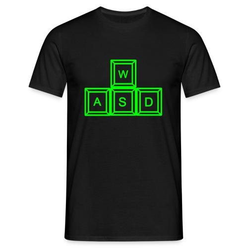 WASD - Shooter - T-Shirt - Männer T-Shirt