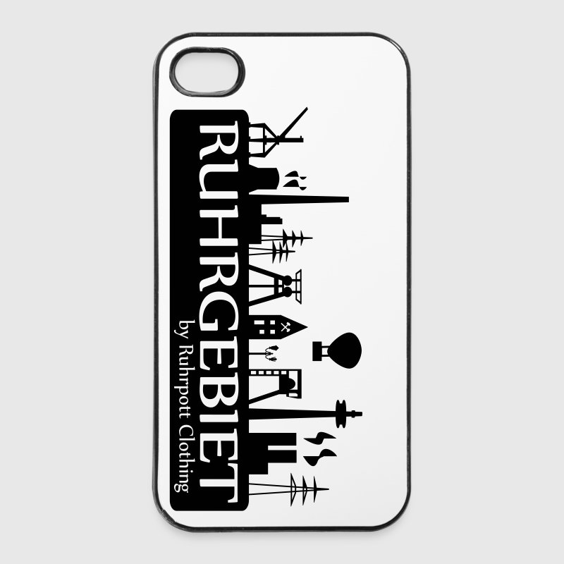 Skyline Ruhrgebiet - iPhone Hülle - iPhone 4/4s Hard Case