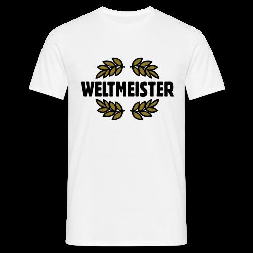 Weltmeister T-Shirt Gold - Männer T-Shirt