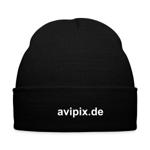 avipix.de Winter Cap, black - Wintermütze