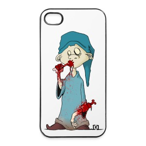Simple minded zombi Iphone 4/4S - Coque rigide iPhone 4/4s