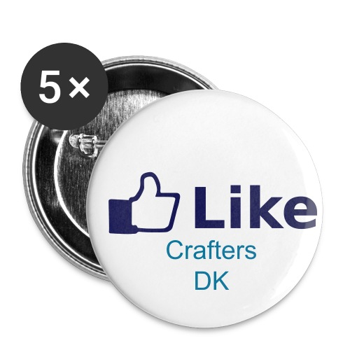 Buttons/Badges lille, 25 mm (5-pack)
