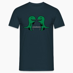 Funny Table Tennis Dinos T-Shirts
