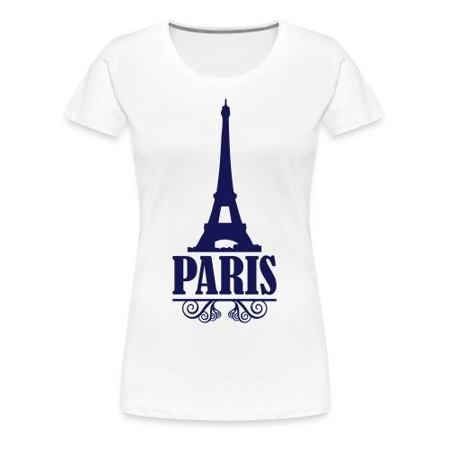 Paris! - Vrouwen Premium T-shirt