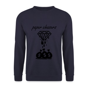 paper chasers jumper - navy - Men's Sweatshirt