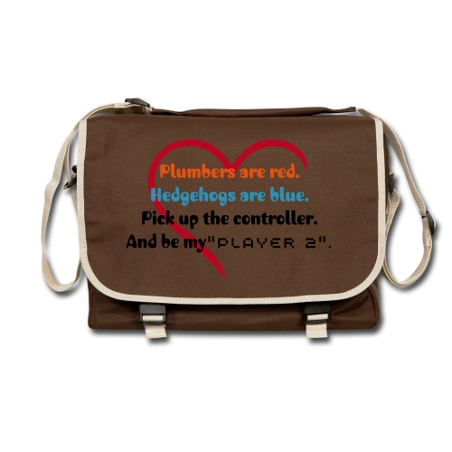 The Gamer's Love Poem Shoulder Bag - Shoulder Bag