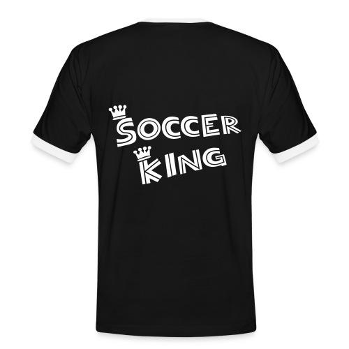 T-Shirt King 1 - Männer Kontrast-T-Shirt