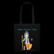 Bolsas y mochilas ~ Bolsa de tela ~ Sant Jordi & Tina