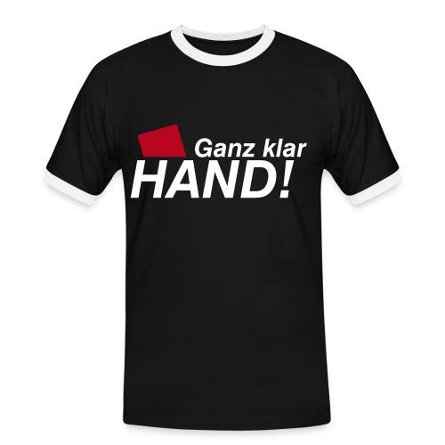 T-Shirt Hand - Männer Kontrast-T-Shirt