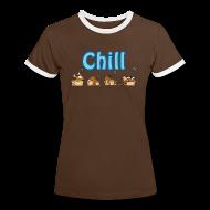 T-skjorter ~ Kontrast-T-skjorte for kvinner ~ Chill
