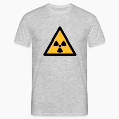 Hazard Symbol - Radioactivity (2-color) T-Shirts
