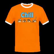 T-skjorter ~ Kontrast-T-skjorte for menn ~ Chill