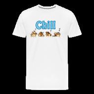 T-skjorter ~ Premium T-skjorte for menn ~ Chill