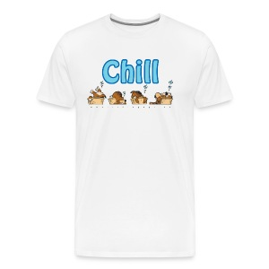 Chill - Premium T-skjorte for menn