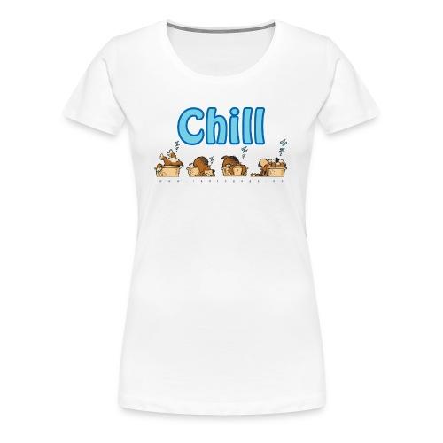 Chill - Premium T-skjorte for kvinner