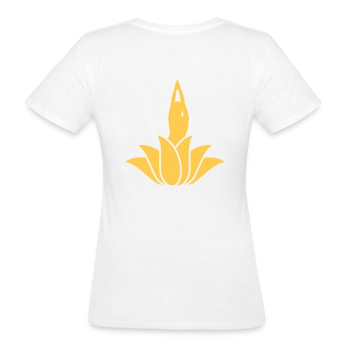 Go Yoga by Anna Werr - Frauen Bio-T-Shirt