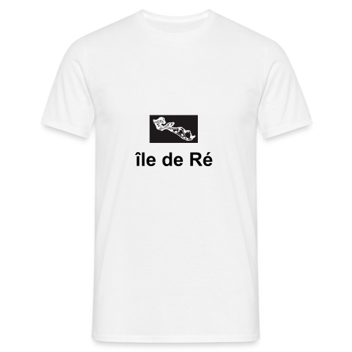 t-shirt-ile-de-re - T-shirt Homme