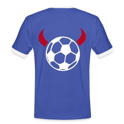 T-Shirt Teufel 2 - Männer Kontrast-T-Shirt