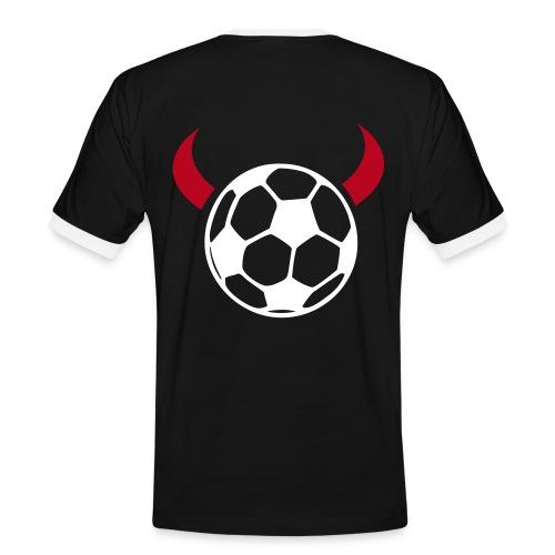 T-Shirt Teufel 3 - Männer Kontrast-T-Shirt