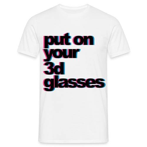 T-shirt 3D homme - T-shirt Homme