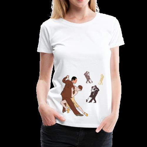 Tango Shirt - Frauen Premium T-Shirt