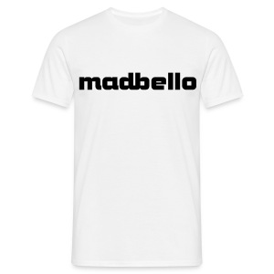 madbello wit - Mannen T-shirt