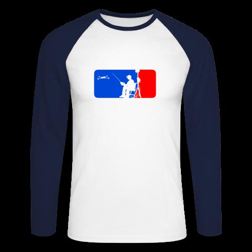 ML FPV Quad LST - Men's Long Sleeve Baseball T-Shirt