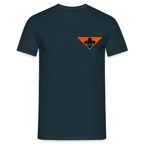 Uniform verkenners - Mannen T-shirt