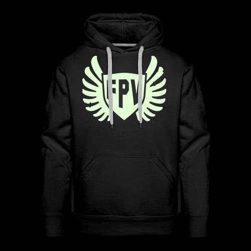 FPV Night Ops Glow in the Dark - Men's Premium Hoodie