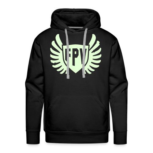 FPV Night Ops Glow in the Dark - Men's Premium Hoodie