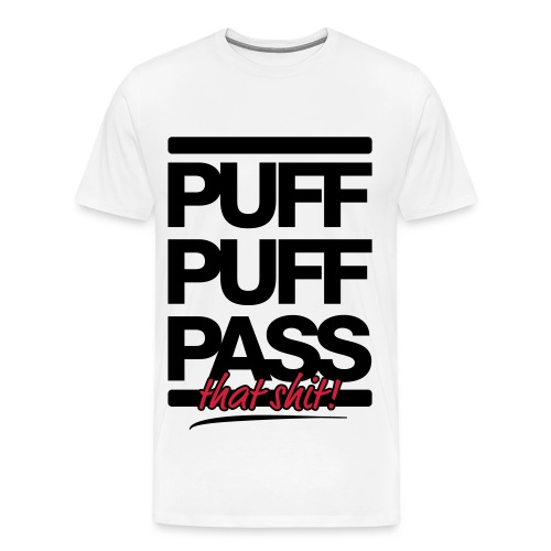 PPP White - Men's Premium T-Shirt