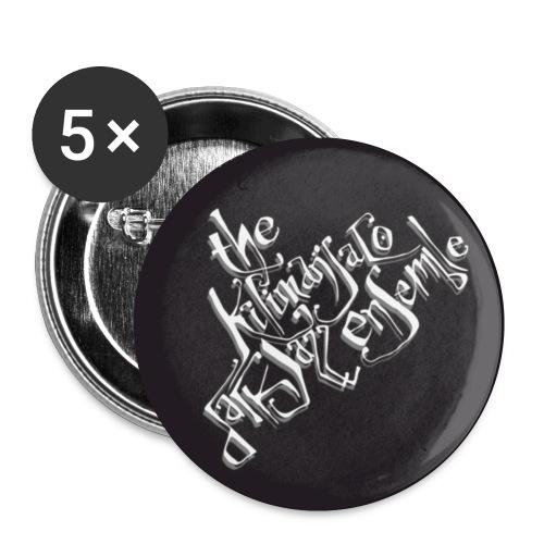TKDE : Buttons - Buttons small 1''/25 mm (5-pack)