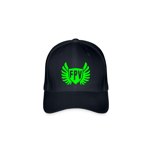 FPV GreenCap - Flexfit Baseball Cap