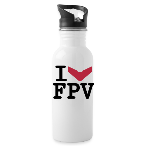 I love FPV Bottle - Water Bottle