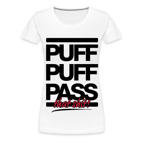 PPP White - Women's Premium T-Shirt