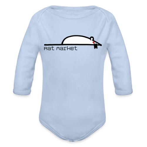 Rat Market baby - Body orgánico de manga larga para bebé