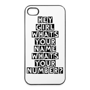 JEDWARD 'WHATS YOUR NUMBER' iPhone 4/4S Hard Case (UNOFFICIAL) - iPhone 4/4s Hard Case